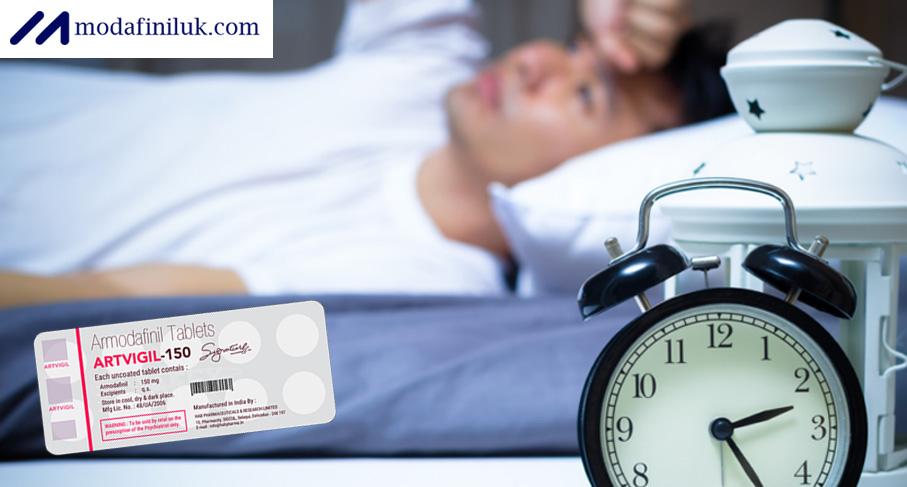 Artvigil 150 Helps With Sleeping Disorders